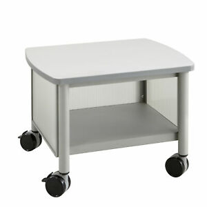 Safco Products Company Impromptu Mobile Printer Stand Gray