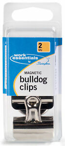 Workessentials Magnetic Bulldog Clip Set Of 6