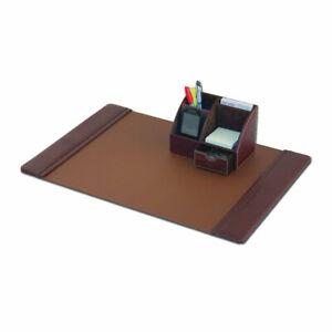 Dacasso 2 Piece Desk Set Mocha