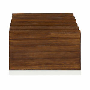 Gracie Oaks Mccaslin Wood Desktop Organizer With Drawer