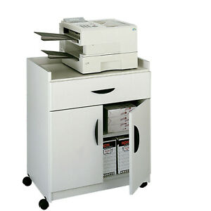 Safco Products Company Mobile Printer Stand Gray