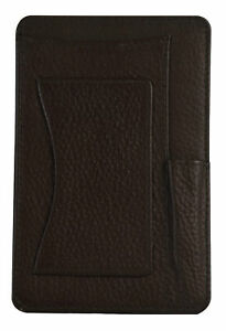 Brayden Studio Jenny Genuine Leather Small Notepad Holder Brown