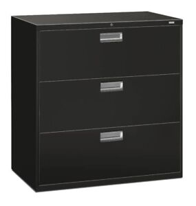 Hon Brigade 600 Series 3 drawer Lateral Filing Cabinet