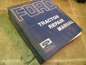 Ford 2000 3000 4000 5000 7000 Tractor Service Repair Manual