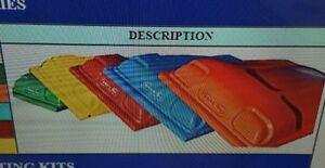 Universal Tractor Canopy Red 60 W X 65 Long Polyethylene Up To 4 X 2 Rops