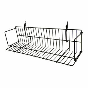 Econoco Multi Fit Dvd Shelf For Pegboard Slatwall And Gridwall Bins And Baskets
