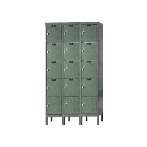 Hallowell Premium 5 Tier 3 Wide Employee Locker