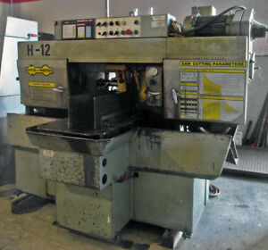 Hyd mech H 12 12 x12 Horizontal Metal Cutting Automatic Cut off Saw