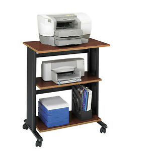 Safco Products Company Muv Mobile Printer Stand Cherry