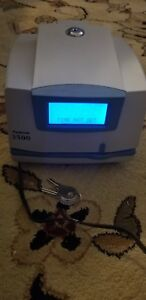 Pyramid 3500 Time Clock With Two Keys Works Euc