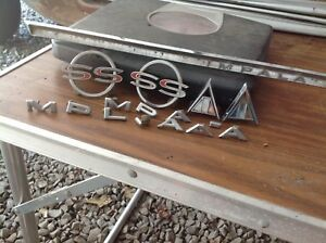 1964 Chevy Impala Super Sport Emblems And Letters