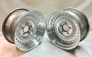 Chevy Centerline 15x7 Wheels Rims Gm Chevelle Nova Camaro Race J14708