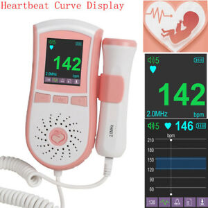 Us New Hot Fhr 2mhz Fetal Doppler Fetal Heart Patient Monitor Ultrasound Machine