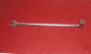 Snap On Oh24 3 4 Long Flex Socket Wrench Nice 16 9 16