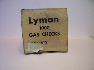 Lyman 44 caliber gas checks