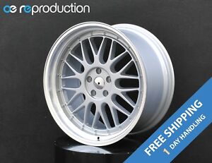 Bbs Lm Style Wheels Rims 20x8 5 Inch 5x114 3 Et 20 Silver For Infiniti G37 V36