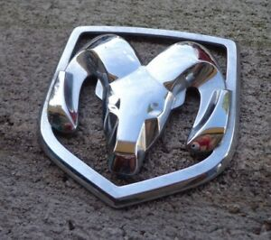 Dodge Emblem Badge Decal Logo Chrome Front Avenger Dart Caravan Oem Genuine Ram