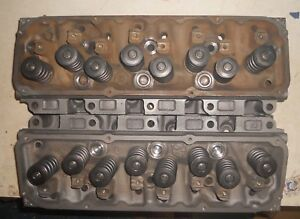 Nice Set 1971 Ford Torino Gt Cobra D1ae 351c Cleveland 4v Closed Cylinder Heads