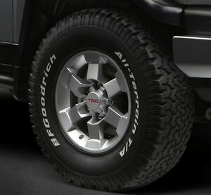 Toyota Fj Cruiser 2007 2014 Trd 16 Silver Alloy Rims Set Oem New