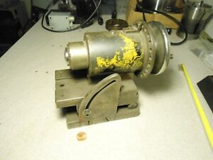 R8 Collet Chuck Sine Milling Grinding Indexing Fixture