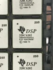 Tms320c6202gjl250 Texas Instruments Ic Fixed point Dsp 352 fc csp