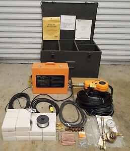 Vintage U s Army Military Airco Aircomatic Miget Arc Welding Set