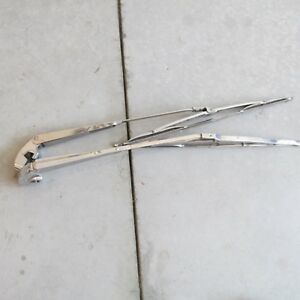 Vintage Stainless Steel Wiper Arms
