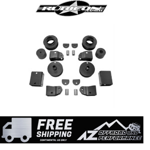 Rubicon Express 2 Economy Lift Kit Shock Extensions For 18 20 Jeep Wrangler Jl