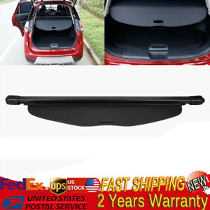 Retractable Trunk Cargo Cover Security Shade For 2014 2018 Nissan Rogue Black Us