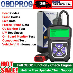 Automotive Obd2 Scanner Car Diagnostic Tool Eobd Code Reader Check Engine Light