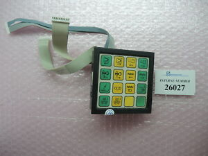 Input Keypad Sn 126 236 A Arburg Selogica Control Used Spare Parts