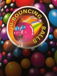 750 Super Bouncy Balls Bulk Toy Vending Gumball Machine 27mm 1 Superballs Fun