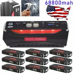 Battery Charger 300a Peak 12v Jump Starter Booster Portable Power Pack Car Sw