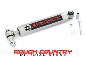 Rough Country N3 Steering Stabilizer 84 01 Jeep Cherokee Xj 4wd 2wd