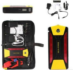 82800mah 4usb Car Jump Starter Emergency Charger Booster Power Bank Battery Free