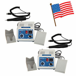 2 Sets Marathon Micromotor Drill Polisher N3 W 35k Rpm Motor Handpiece Usa Or