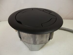 Large Commercial Sub Floor Box Electrical Data Receptacle Cubical Fast Ship