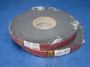 2 Rolls Emseal Ast Hi acrylic 1 4 X 1 X 19 68 Tape For Expanded Metal Roof