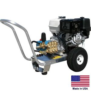 Pressure Washer Commercial Portable 4 Gpm 4000 Psi 13 Hp Honda Cat