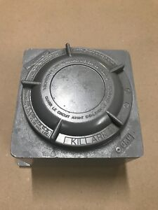 Killark Hubbell Grm Outlet Box 180 Cu In Junction Box Blank Cover new