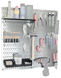 Wall Control Utility Tool Storage And Garage Pegboard Organizer Kit