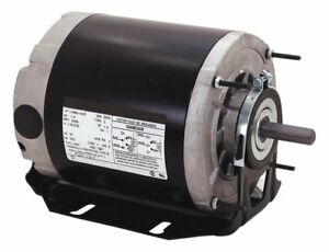 Century 1 6 Hp Direct Drive Blower Motor Split phase 1140 Nameplate Rpm 115