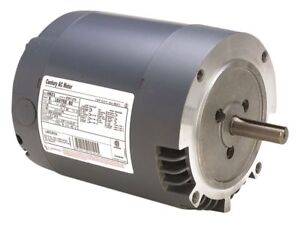 Century 1 12 Hp Direct Drive Blower Motor Split phase 850 Nameplate Rpm 115