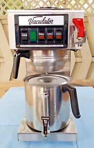Commercial Vaculator Tak20fc Coffee Brewer Pour over Or Water Supply Bonus