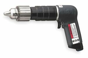 Ingersoll rand 0 75 Hp Industrial Duty Keyed Air Drill Pistol Style 1 2 Chuck