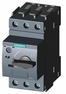 Siemens Rotary Knob Manual Motor Starter No Enclosure 20 To 25 Amps Ac
