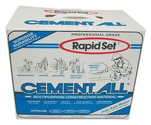 Rapid Set Gray Concrete Resurfacing Patch And Repair 25 Lb Size Coverage