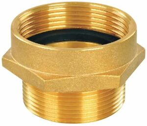 Fire Hose Hex Nipple Adapter Nonswivel Adapters Fittings Sub category Fnpt X
