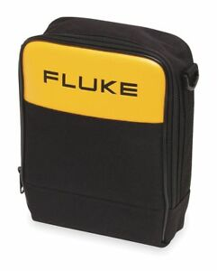 Fluke Soft Carrying Case 2 In H 9 Ind Blk ylw C115