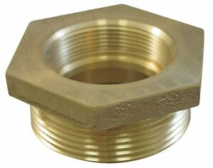 Moon American Fire Hose Hex Bushing Adapter Nonswivel Adapters Fittings